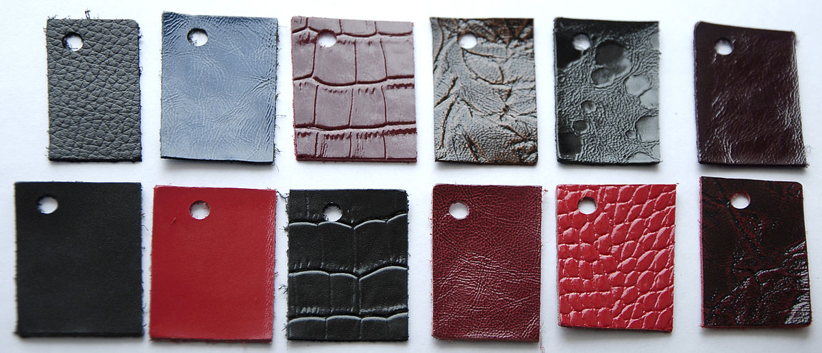 Plant factory pieces of all kinds of leathers