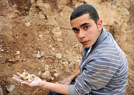 Uncovering the bones of Armenians in Deir ez-Zor. Bones of Armenians.jpg