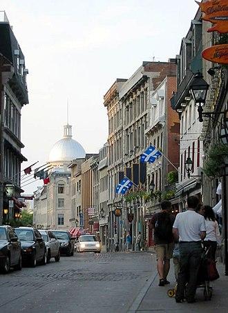 Rue Saint-Paul (Montreal) - Rue Saint-Paul