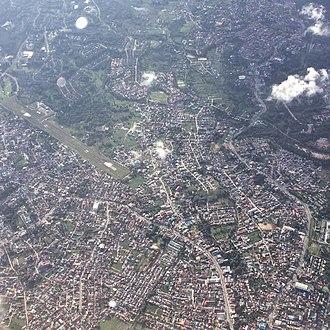 Bontang - Aerial view of Southern Bontang