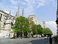 Bordeaux (33) Cathédrale Saint-André Flanc sud de la nef 02.jpg