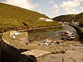 Boscastle, the harbour and the River Valency - geograph.org.uk - 1466465.jpg