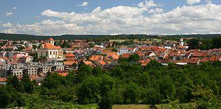 Boskovice Town in South Moravian, Czech Republic