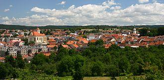 Boskovice - Image: Boskovice pohled na centrum