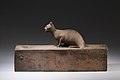 Box for animal mummy surmounted by a cat, inscribed MET LC-12 182 27 EGDP023739.jpg
