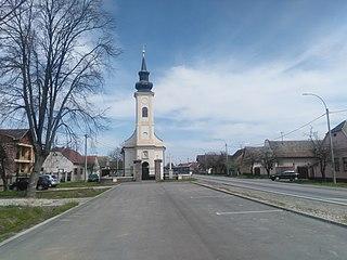 Bršadin Village in Syrmia, Croatia