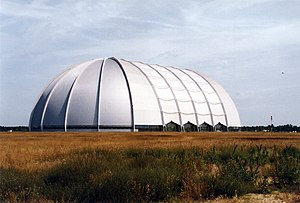 Brand-Briesen Airfield - The Cargolifter airship hangar at Brand-Briesen