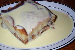 Bread pudding Apple