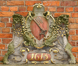 Stadtwaage (Bremen) - Bremen coat of arms