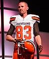 Brian Hartline Cleveland Browns New Uniform Unveiling (17153840321).jpg