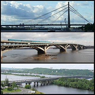 Bridges in Kiev Wikimedia list article