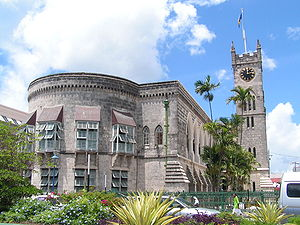 بريدج تاون: Bridgetown barbados parliament building