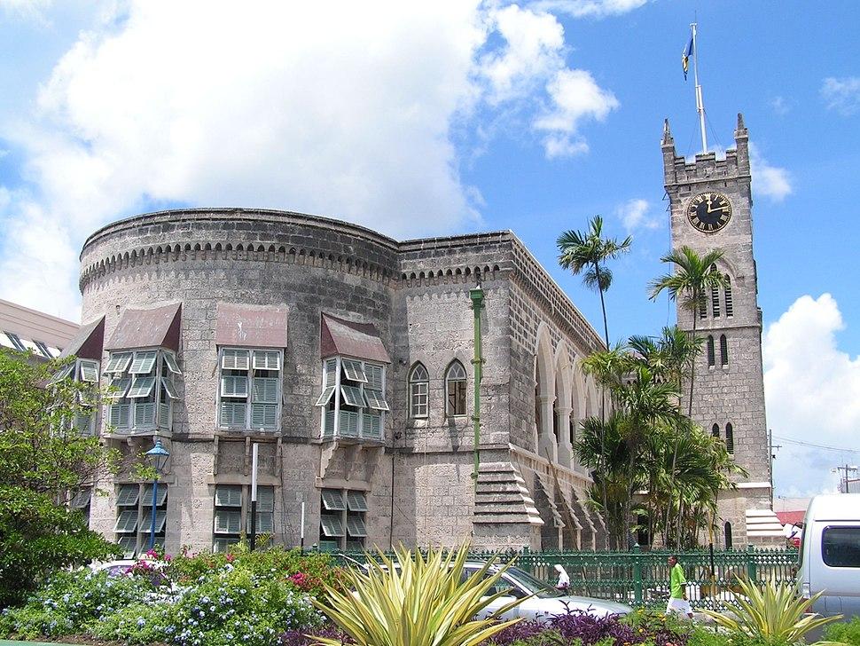 Bridgetown barbados parliament building