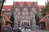 The university, build as Königliche Technische...