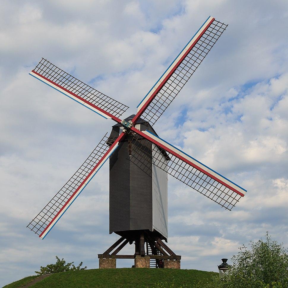 Bruges Belgium Windmill-Bonne-Chiere-01
