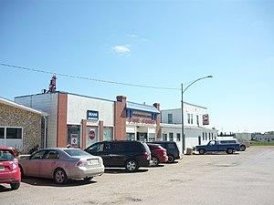 Bruno, Saskatchewan - Main Street