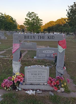 Hamilton County, Texas - Image: Brushy Bill Gravesite