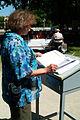 Buch der Reservierungen für die Pfingsttafel Hannover 2012 im Georgengarten.jpg