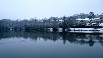 Alexandra Park, Hastings - Image: Bukcshole Reservoir Alexandra Park