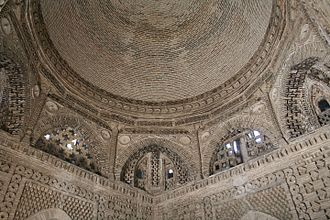 History of Persian domes - Samanid Mausoleum in Bukhara, Uzbekistan.