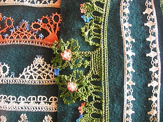 Lace and embroidery from Koprivshtitsa