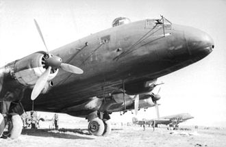 Junkers Ju 290 - Nose of a Junkers 290 with a Junkers Ju 90 behind