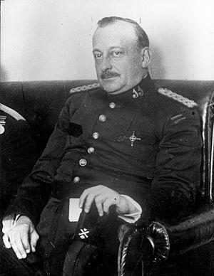 Miguel Primo de Rivera - Primo de Rivera in 1921, when he was a Senator.