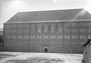 Brandenburg Euthanasia Centre - Newly erected main gaol in 1931