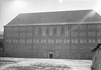 Brandenburg-Görden Prison - Newly erected main building in 1931