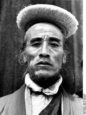 Bhotiya - A senior official in Sikkim, ethnic Bhotiya, 1938