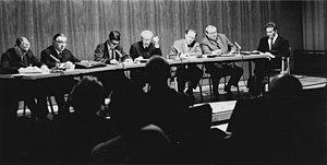 Fritz Diez - Fritz Diez (second from the left) in 1966.