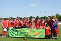 Buntkicktgut Auswahlteam Team Germany beim FC Bayern Youth Cup 2014 1.jpg