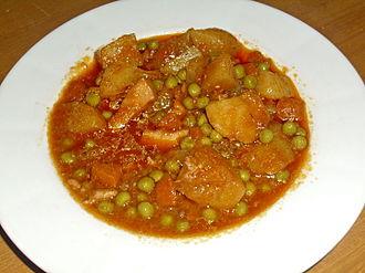 Fish stew - Image: Buridda di seppie 01