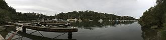 Sydney University Boat Club - Image: Burnsbaypanorama