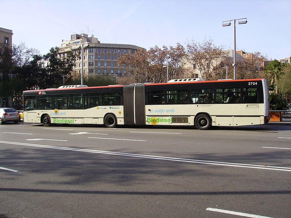 Bus Articulat Barcelona