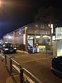 Bus stop in front of Keisei-Narita Station at night.jpg