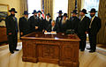 Bush and rabbis in the Oval Office.jpg