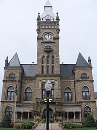 Butler County Courthouse, Butler