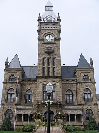 National Register of Historic Places listings in Butler County, Pennsylvania - Image: Butler County Courthouse, Butler