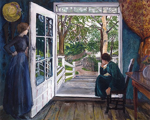 598px-By_the_Open_Door,_Nicolai_Astrup_-_1902-1911.jpg (598×480)