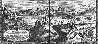 Bydgoszcz - Panorama of Bydgoszcz from 1657