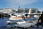 C-FAIV DHC.6 Twin Otter 200 (floats) Airwest A-l YWH 21JUL74 (6814232363).jpg