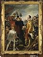 C. Kruseman - Philips II beschuldigt Willem van Oranje te Vlissingen bij zijn vertrek uit de Nederlanden in 1539 - B303 - Cultural Heritage Agency of the Netherlands Art Collection.jpg