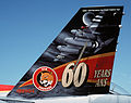 CF-188B 410 Sqn 60th anniversary painting on tail.JPEG