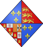 COA english queen Marie Tudor.svg
