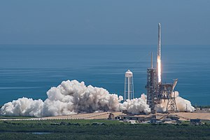 SpaceX CRS-12 - Launch of the CRS-12 mission