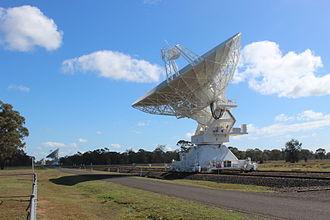 Broad-gauge railway - Image: CSIRO Australia Telescope, Narrabri 1