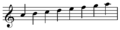 C scale French violin clef.png