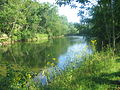 Cacapon River (photograph) at Timber Ridge Camp, WV, 2 of 2.JPG