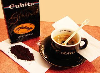 Coffee production in Cuba